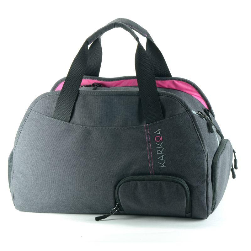 plume de karkoa sac de sport femme compartiment. Black Bedroom Furniture Sets. Home Design Ideas