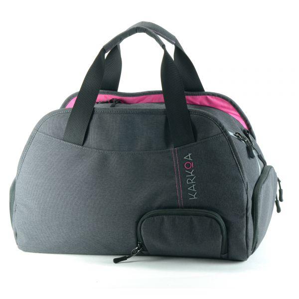 sac de sport femme compartiment plume de karkoa
