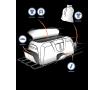 Tepee duffel bag