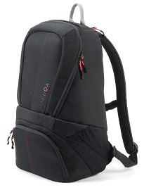 Sport bag with computer pocket Nomad 25 Red black