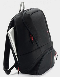 Sports bag and computer